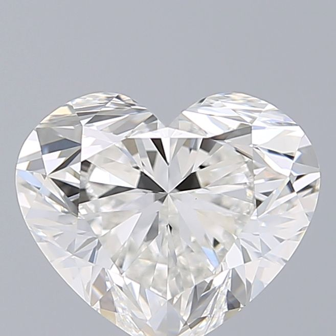 2.01 Carat Heart Loose Diamond, F, VS1, Super Ideal, GIA Certified