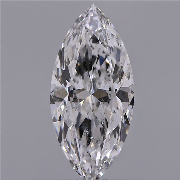 0.50 Carat Marquise Loose Diamond, E, SI2, Ideal, GIA Certified