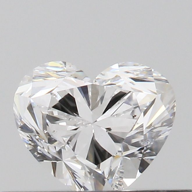 0.31 Carat Heart Loose Diamond, D, SI1, Excellent, GIA Certified