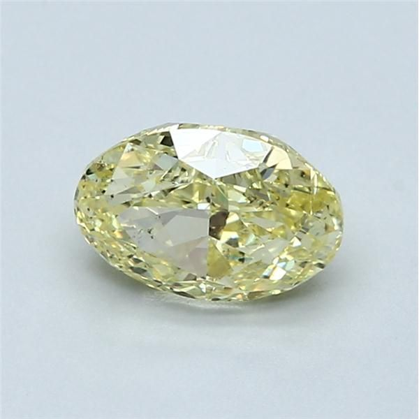 1.38 Carat Oval Loose Diamond, FY FY, SI1, Excellent, GIA Certified