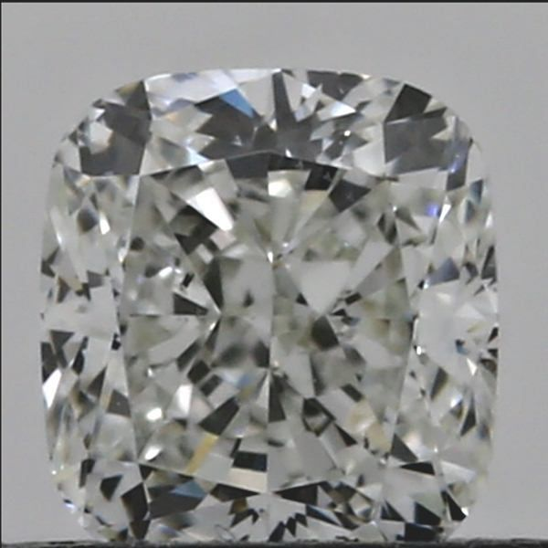 0.51 Carat Cushion Loose Diamond, J, SI1, Excellent, GIA Certified