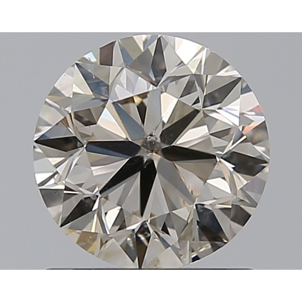 1.00 Carat Round Loose Diamond, N, SI2, Excellent, GIA Certified