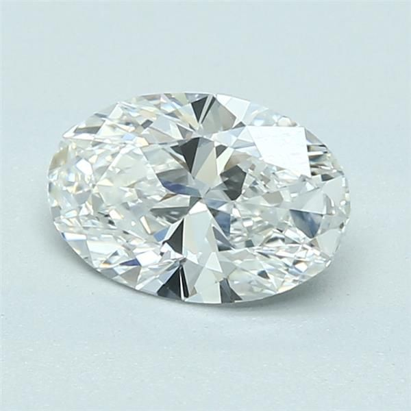 1.10 Carat Oval Loose Diamond, G, IF, Super Ideal, GIA Certified