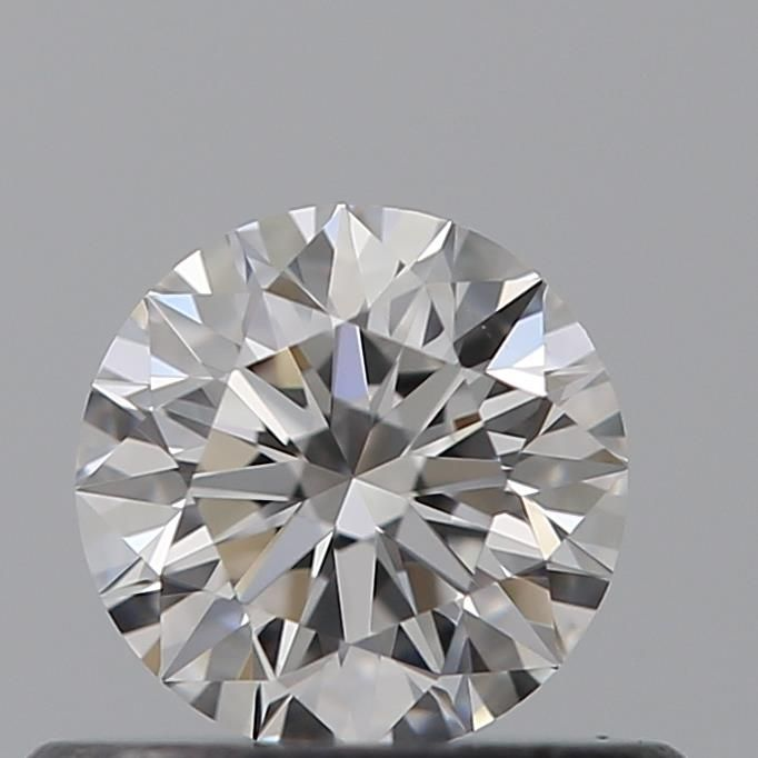 0.41 Carat Round Loose Diamond, D, IF, Super Ideal, GIA Certified