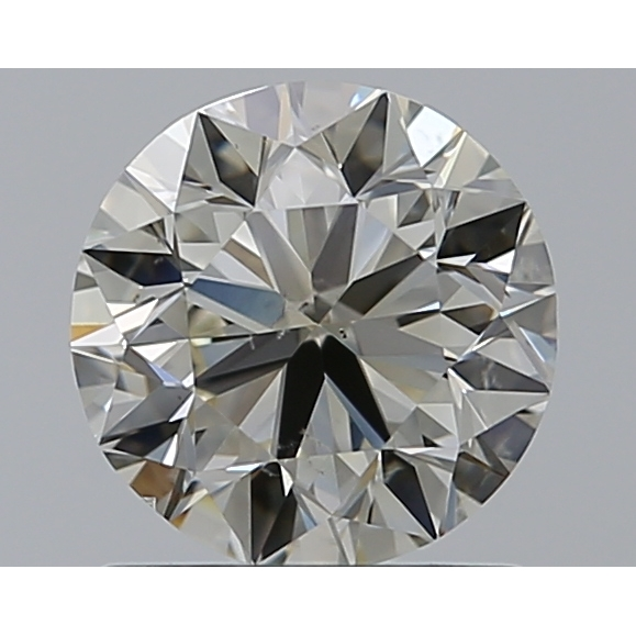 1.01 Carat Round Loose Diamond, N, SI1, Excellent, GIA Certified