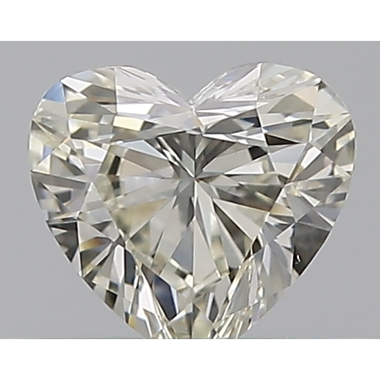 0.30 Carat Heart Loose Diamond, K, VS2, Ideal, GIA Certified | Thumbnail