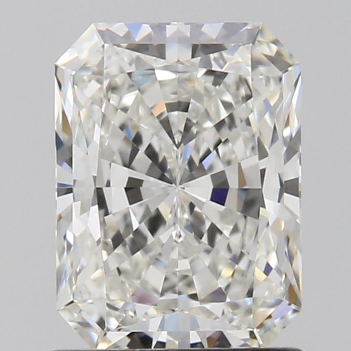1.05 Carat Radiant Loose Diamond, G, IF, Super Ideal, GIA Certified