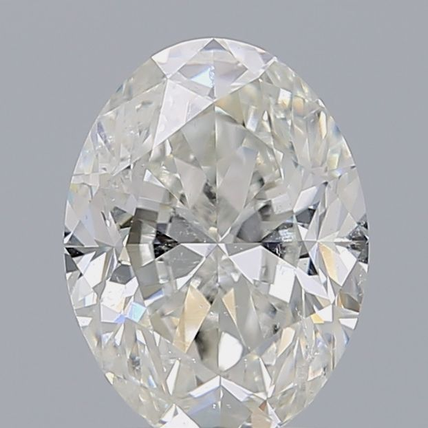 2.01 Carat Oval Loose Diamond, I, SI2, Excellent, GIA Certified