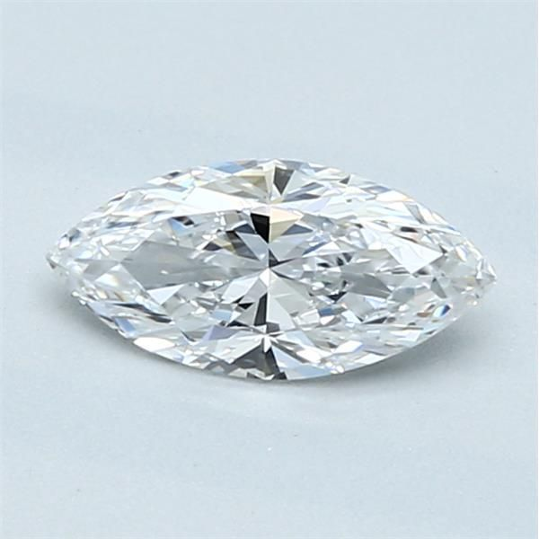 0.53 Carat Marquise Loose Diamond, D, VS2, Super Ideal, GIA Certified