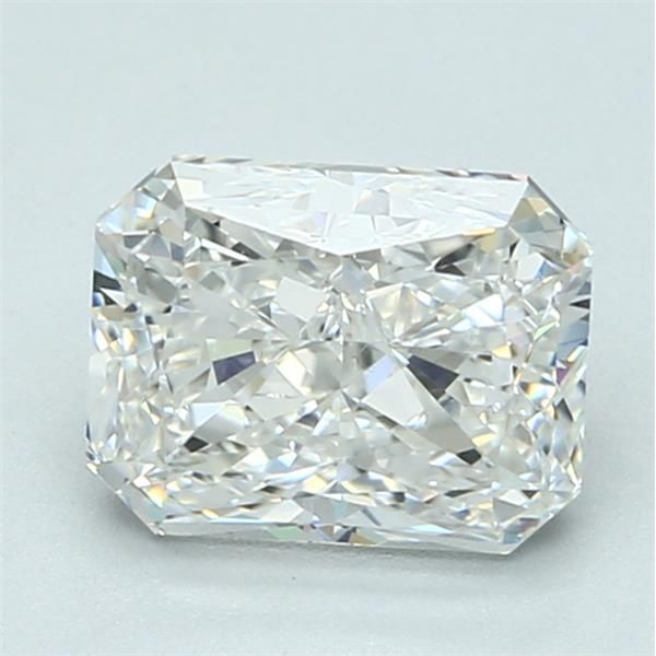 2.01 Carat Radiant Loose Diamond, F, SI1, Excellent, GIA Certified