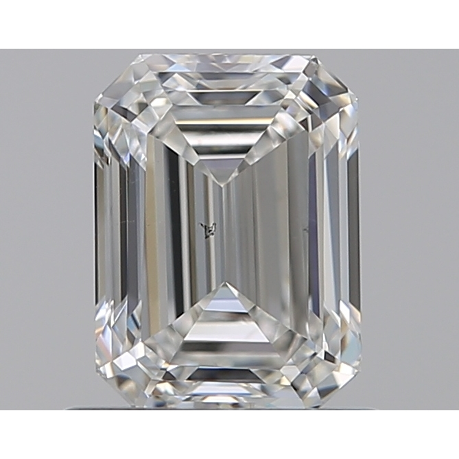 0.80 Carat Emerald Loose Diamond, G, SI1, Excellent, GIA Certified