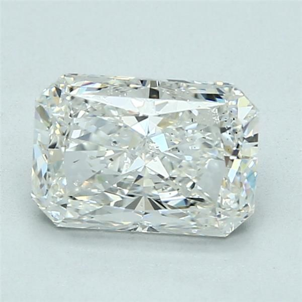 2.01 Carat Radiant Loose Diamond, H, SI1, Excellent, GIA Certified