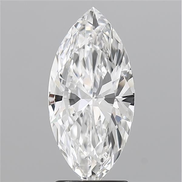 2.01 Carat Marquise Loose Diamond, F, VVS2, Super Ideal, GIA Certified