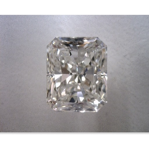 1.00 Carat Radiant Loose Diamond, H, VVS2, Ideal, EGL Certified