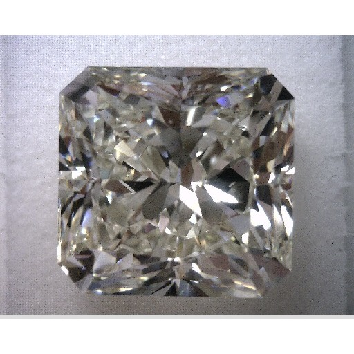 5.01 Carat Radiant Loose Diamond, K, VS1, Super Ideal, EGL Certified