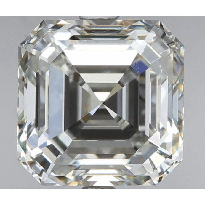 1.71 Carat Asscher Loose Diamond, F, VS2, Super Ideal, EGL Certified