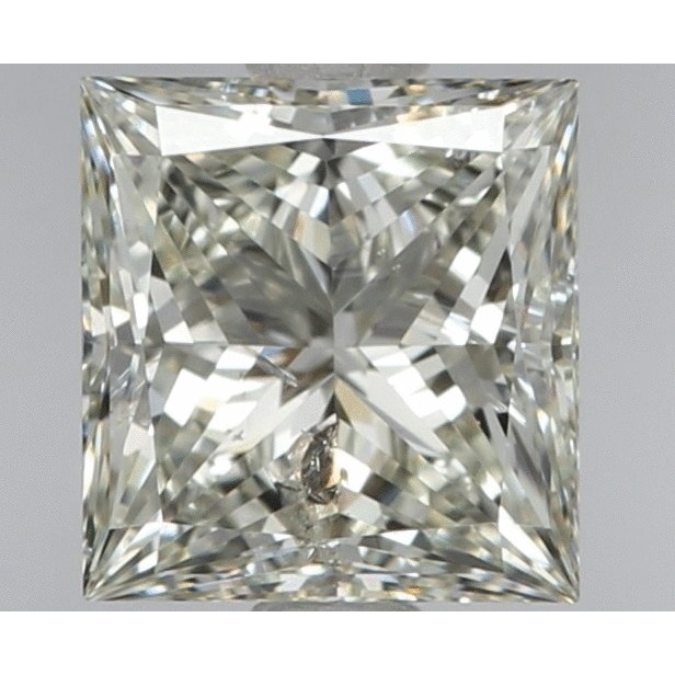 0.90 Carat Princess Loose Diamond, H, SI3, Ideal, EGL Certified