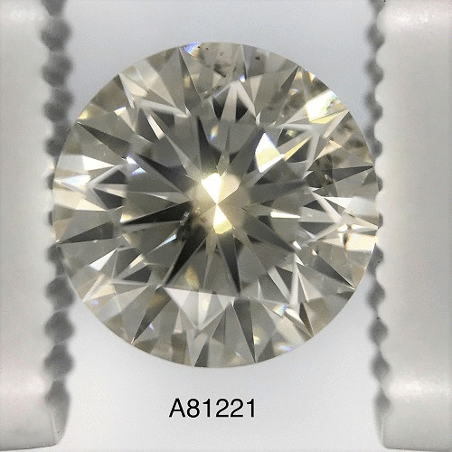 2.46 Carat Round Loose Diamond, K, SI2, Ideal, EGL Certified