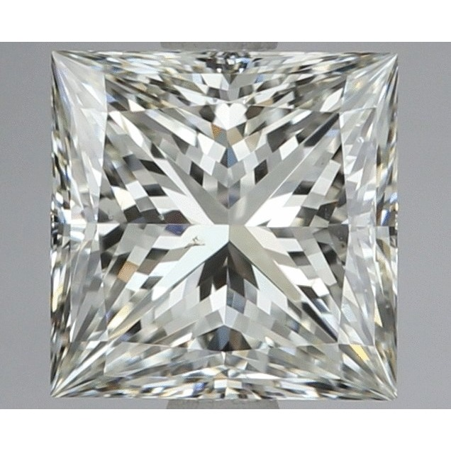 1.20 Carat Princess Loose Diamond, G, VS2, Super Ideal, EGL Certified