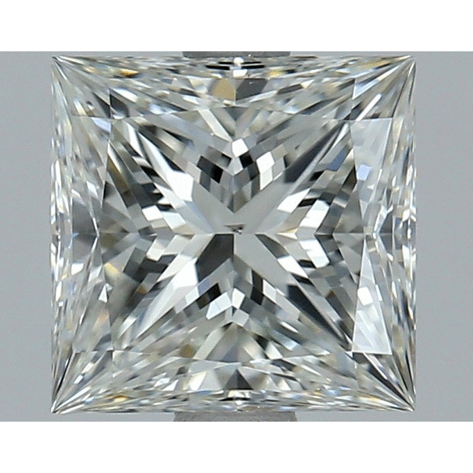 1.51 Carat Princess Loose Diamond, G, VS2, Super Ideal, EGL Certified