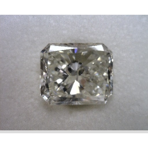 1.00 Carat Radiant Loose Diamond, H, SI2, Very Good, EGL Certified