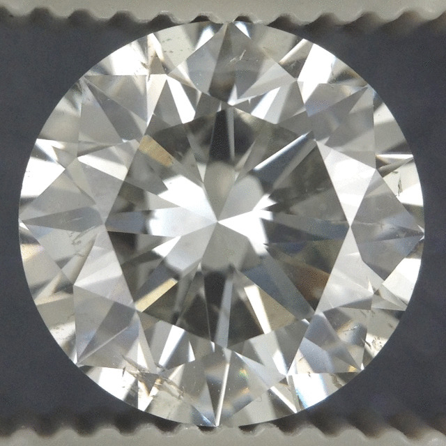 3.39 Carat Round Loose Diamond, I, SI2, Very Good, AGS Certified