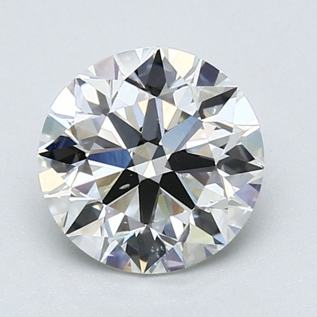 1.50 Carat Round Loose Diamond, H, SI1, Super Ideal, GIA Certified
