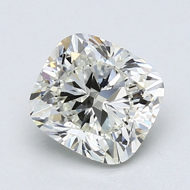 1.40 Carat Cushion Loose Diamond, J, VVS1, Ideal, GIA Certified