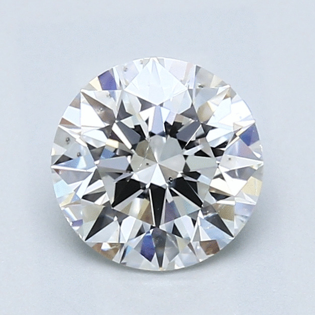 1.40 Carat Round Loose Diamond, E, SI1, Super Ideal, GIA Certified