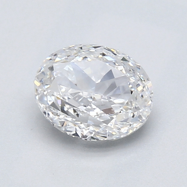 1.00 Carat Oval Loose Diamond, D, VVS1, Very Good, GIA Certified