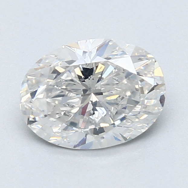 1.20 Carat Oval Loose Diamond, G, SI2, Ideal, GIA Certified
