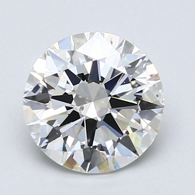 1.50 Carat Round Loose Diamond, H, SI1, Excellent, GIA Certified