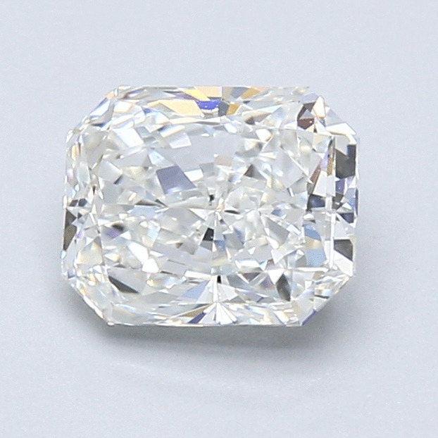 1.40 Carat Radiant Loose Diamond, H, VS2, Super Ideal, GIA Certified