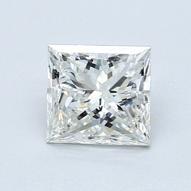 1.01 Carat Princess Loose Diamond, H, VS2, Excellent, GIA Certified