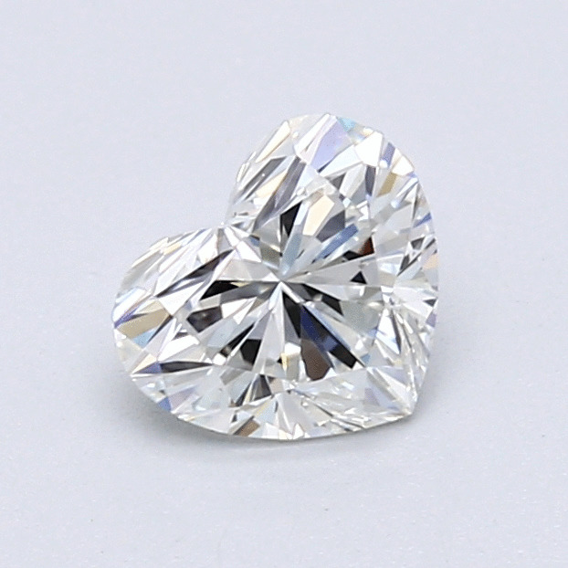 0.78 Carat Heart Loose Diamond, H, VS1, Super Ideal, GIA Certified