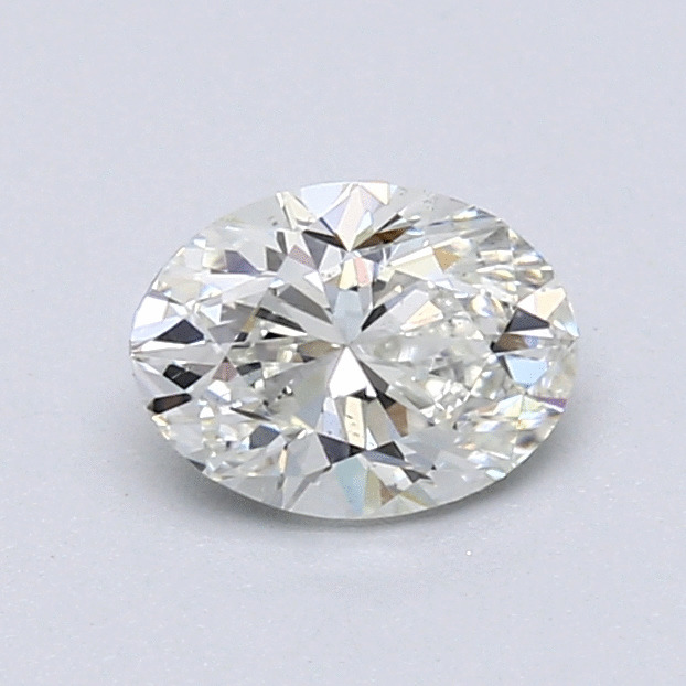 0.77 Carat Oval Loose Diamond, I, SI1, Excellent, GIA Certified