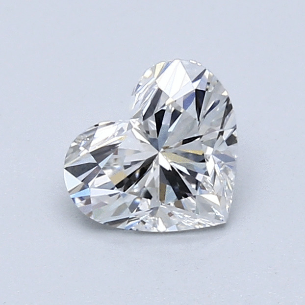 0.80 Carat Heart Loose Diamond, F, VVS1, Super Ideal, GIA Certified | Thumbnail