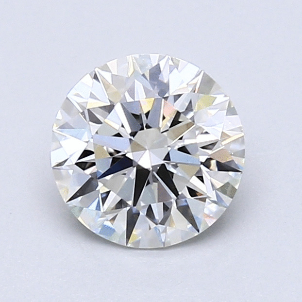 1.09 Carat Round Loose Diamond, H, VVS2, Super Ideal, GIA Certified