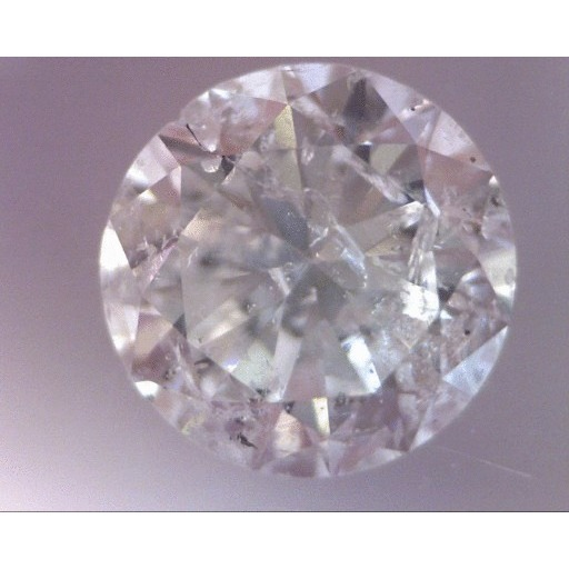 1.44 Carat Round Loose Diamond, D, I1, Good, EGL Certified