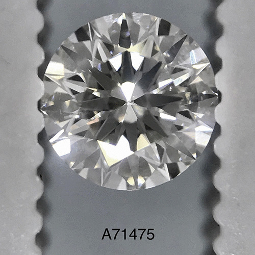 0.50 Carat Round Loose Diamond, F, SI1, Ideal, EGL Certified